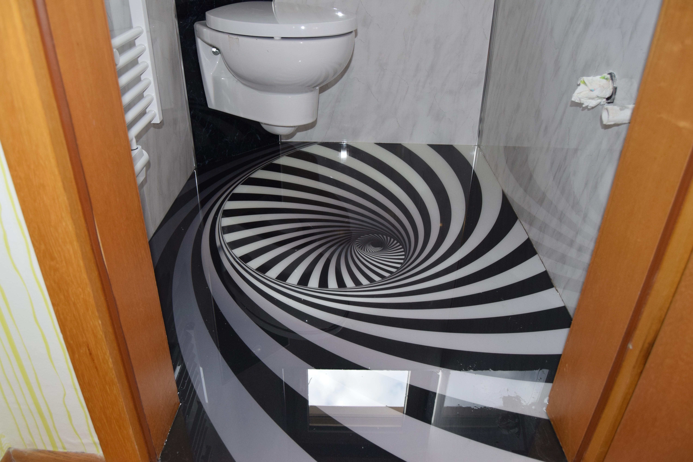 3d boden mit spirallmuster. Black Bedroom Furniture Sets. Home Design Ideas